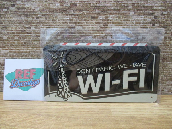 dont panic. we have wi-fi
