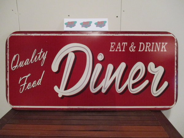 Eat and drink diner 100x46 cm