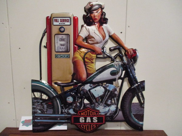 Motor gas cycles 60x69 cm