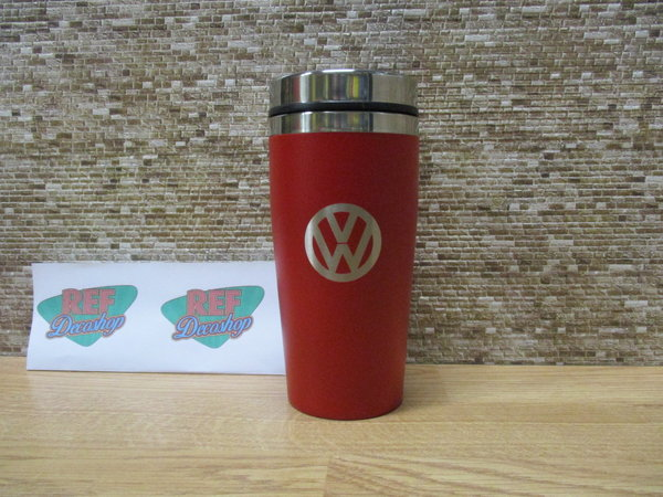 Thermobeker volkswagen 400ml rood