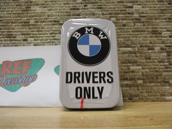 BMW Drivers only Mintdoosje XL