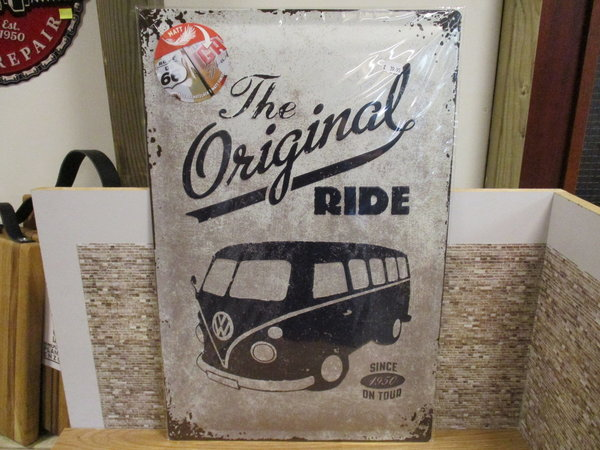 The original ride Volkswagen t1 40 x 60 cm