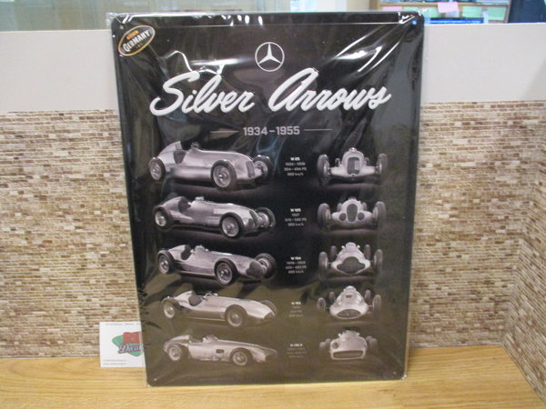 Mercedes benz silver arrows