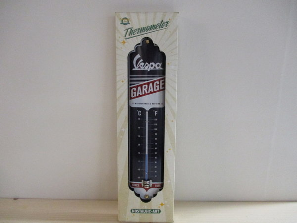 Vespa Garage thermometer